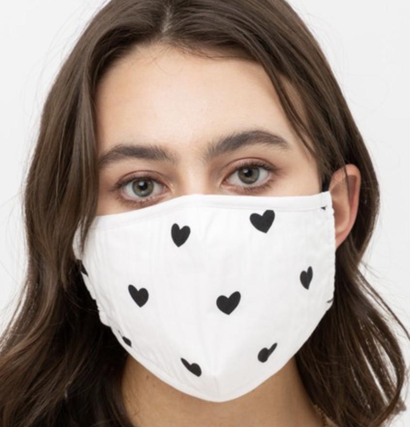 Mask Hearts