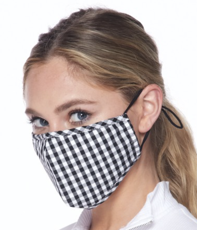 Face Mask Gingham