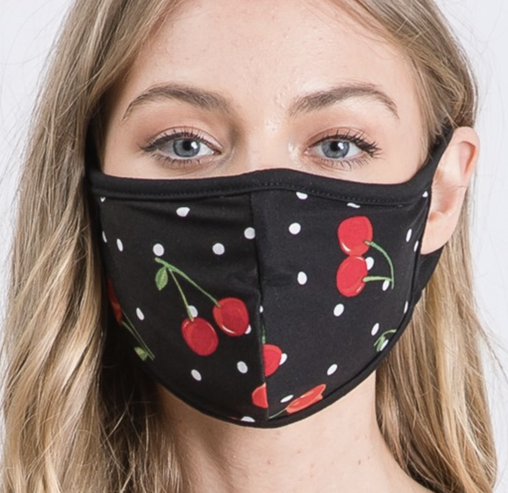 Mask Cherry dots