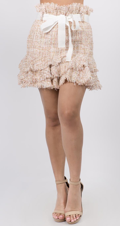 Skirt Gaby tweed ( coming soon , Pre-Order )