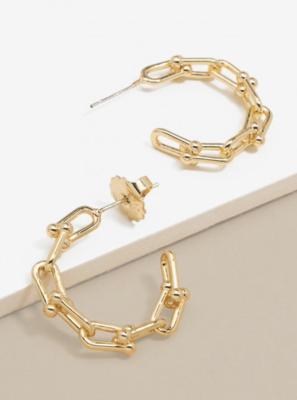 Earrings Hoop Links