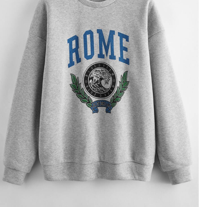 Sweat Shirt Rome
