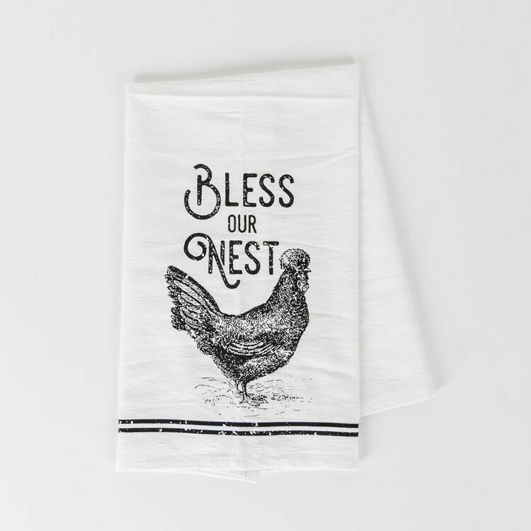 Bless Our Nest Tea Towel