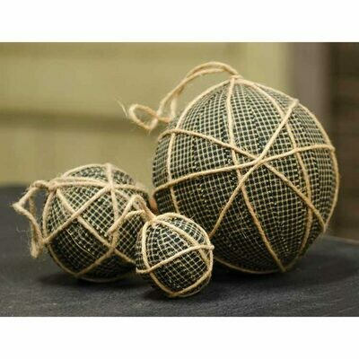 Fabric Balls with Hanger