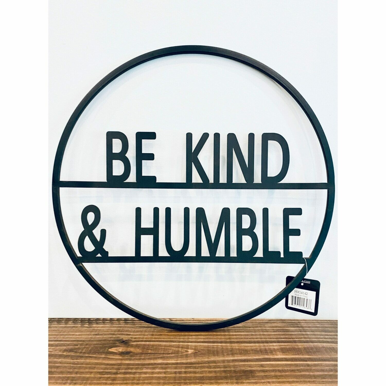 Round Humble Tin