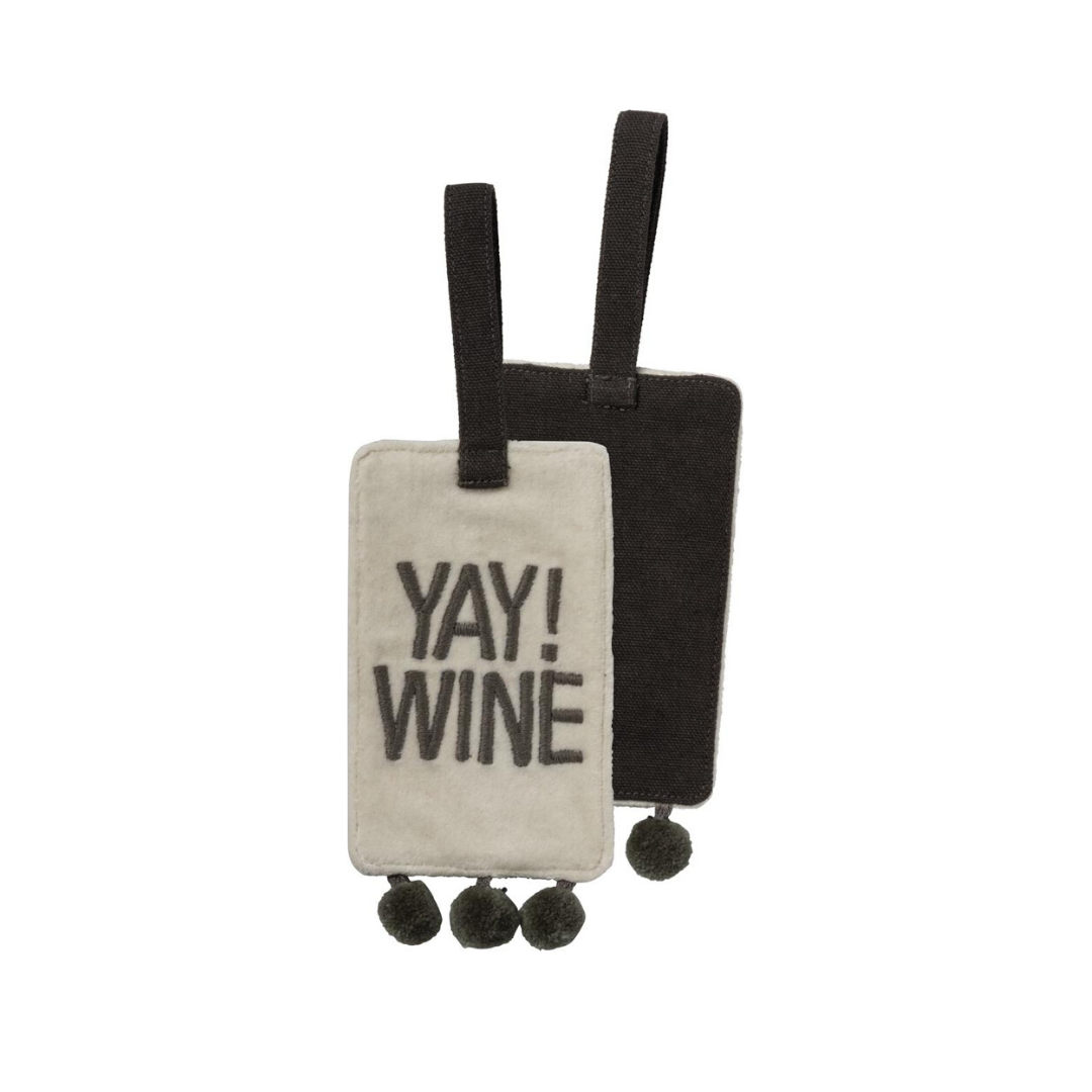 Bottle Tag - Yay! Wine