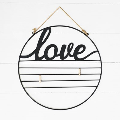 Love Circle with Clips