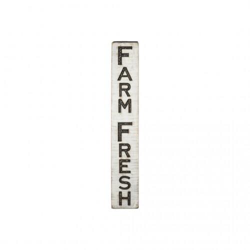 Farm Fresh Vertical Sign