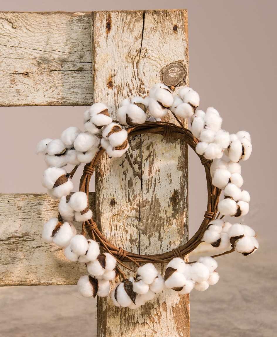 "12"" Cotton Wreath"