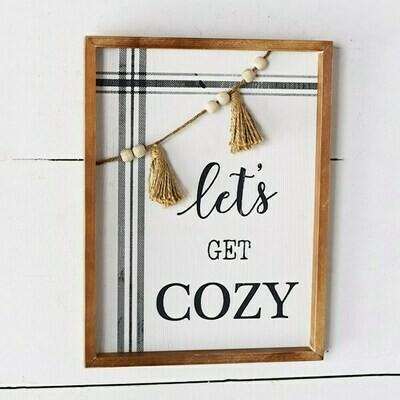 Cozy Bead Sign