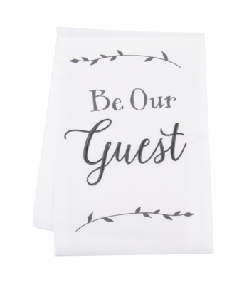 Be Our Guest Towel
