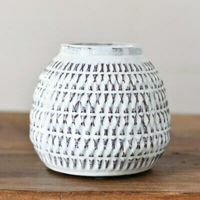 """7.5"""" Fat Boho Vase"""