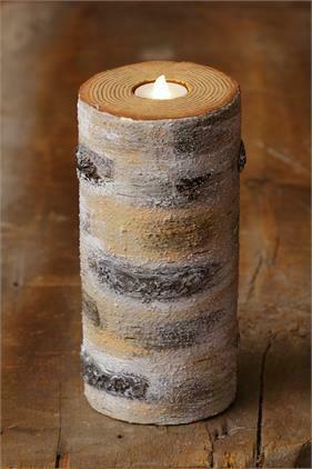 Birch Tea Light Holder
