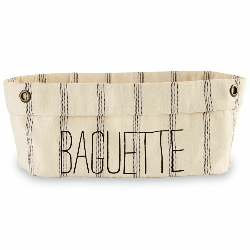 Canvas Baguette Bag
