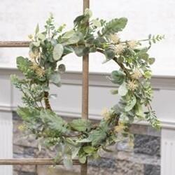"20"" Aberdeen Sea Holly Wreath"