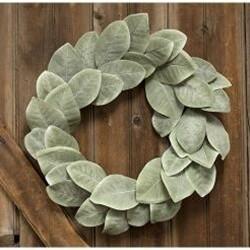 """22"""" Cove Harbor Magnolia Wreath"""