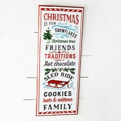 Christmas List Sign
