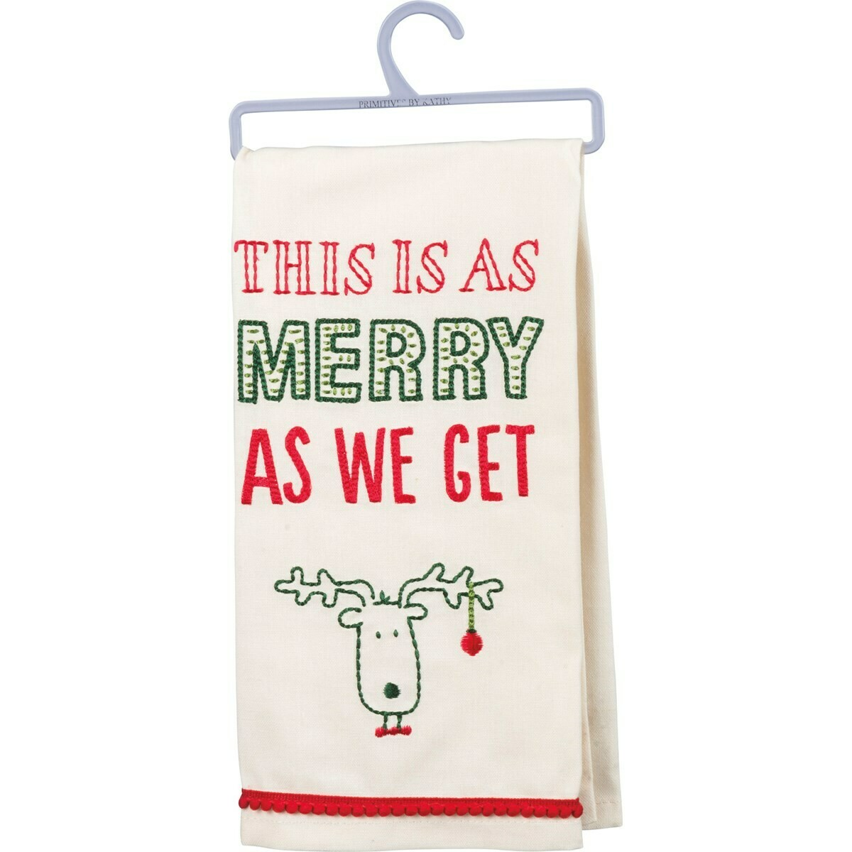 As Merry As We Get Towel