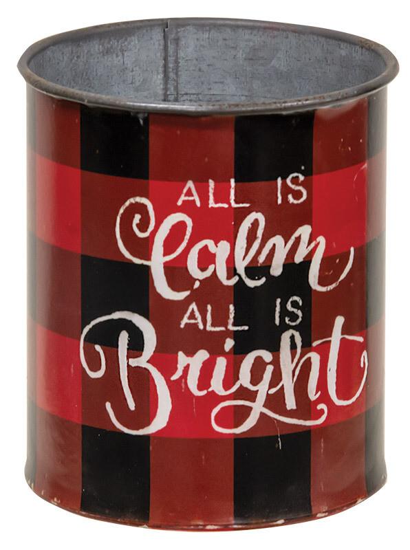 Calm and Bright Bucket