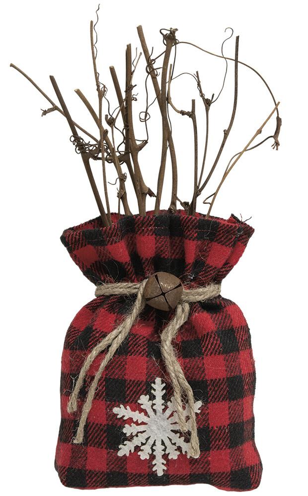Buffalo Check Bag of Twigs