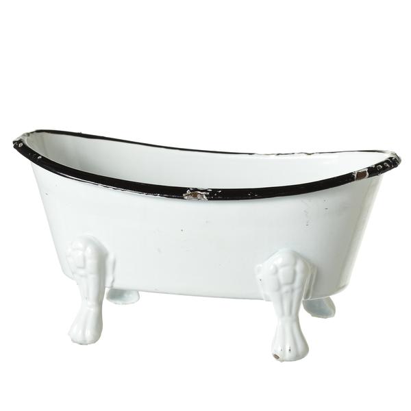 Distressed Enamel Bathtub