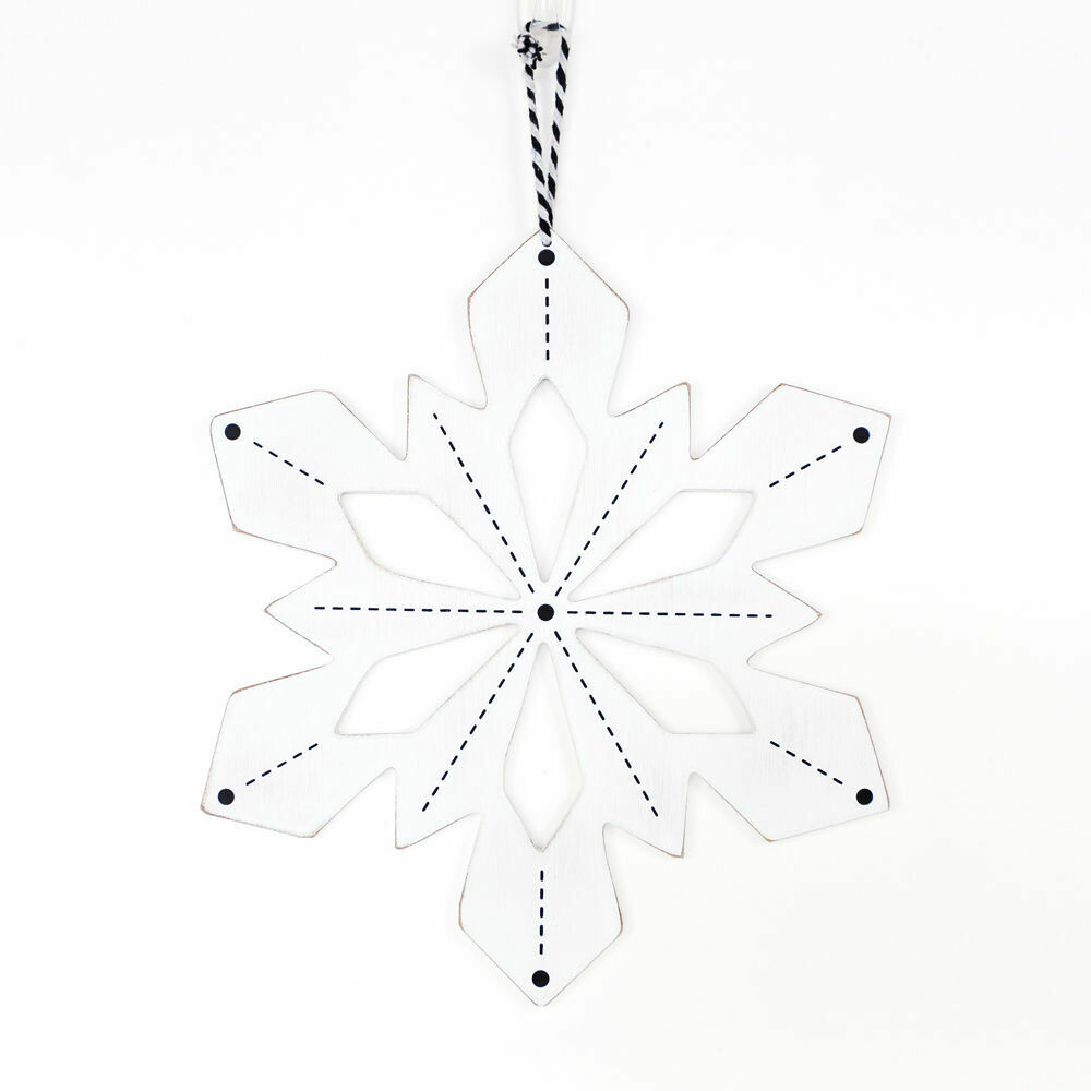 Double Sided Snowflake