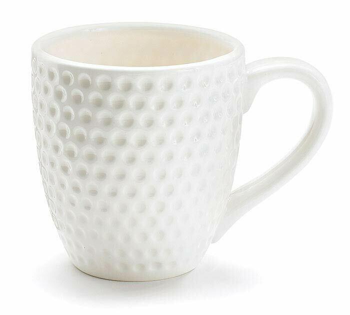 24cm Creme wei/ß Keramik Virginia CASA CreaFlor Home 6er Set Suppenteller Pastateller Corona D