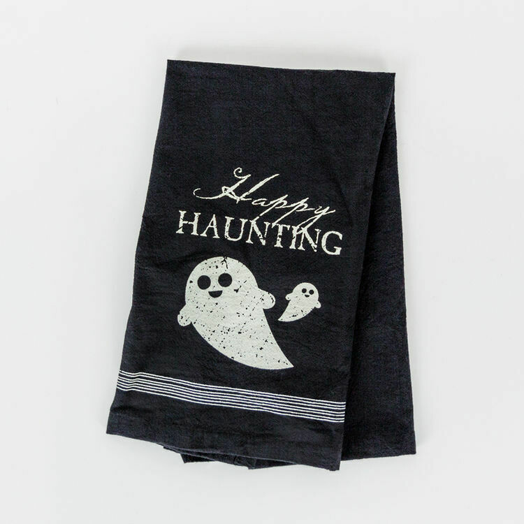 Happy Haunting Tea Towel