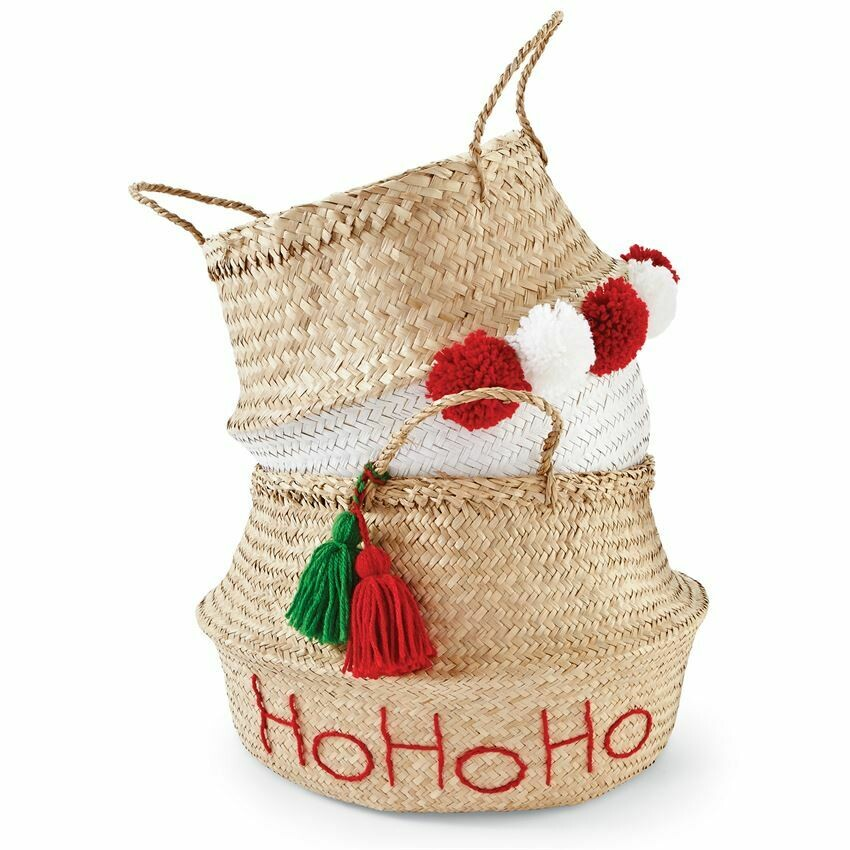 Holiday Collapsible Basket