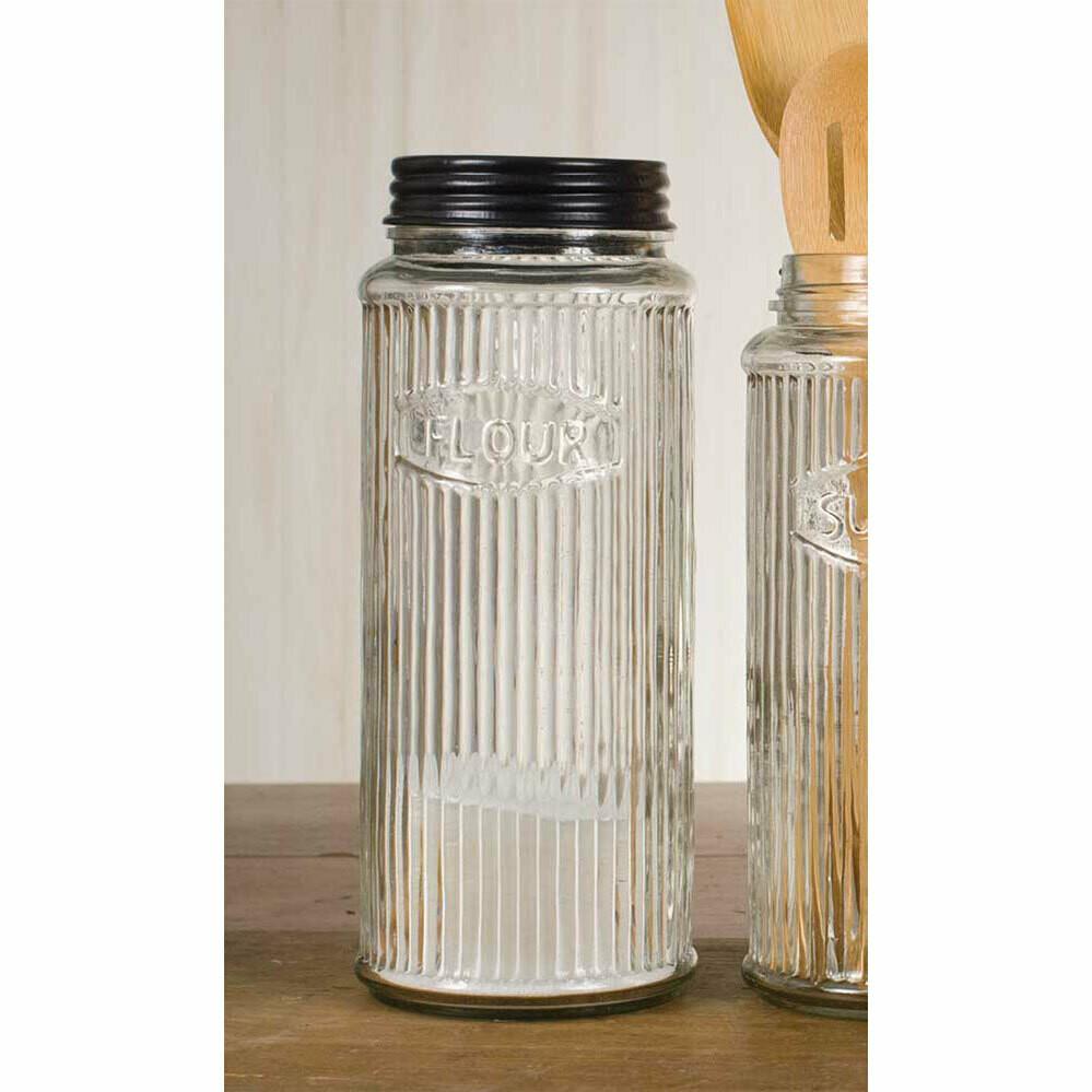 Hoosier Flour Jar