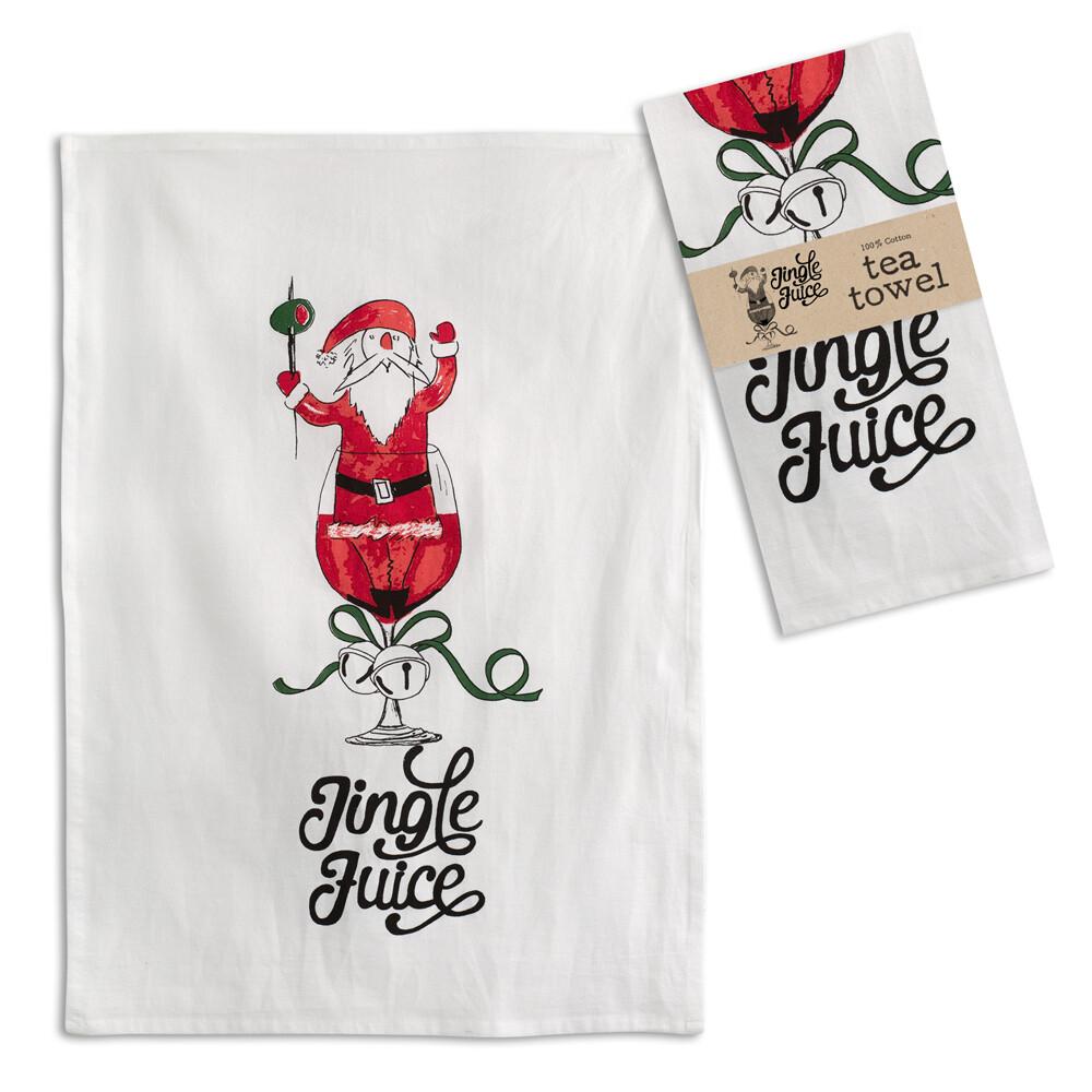 Jingle Juice Tea Towel