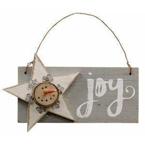 Joy Snowman Hanger