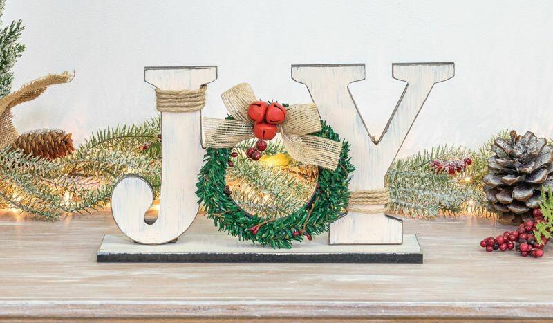 Joy Wreath Tabletop