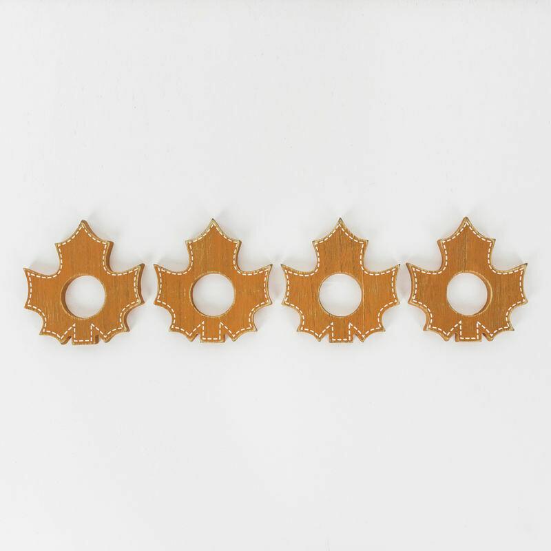 Leaves Napkin Rings