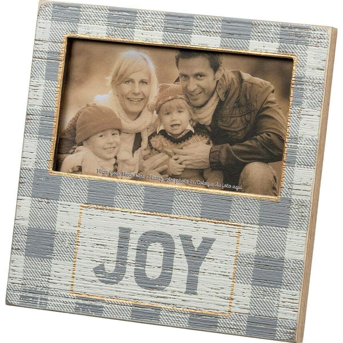 Plaid Joy Frame