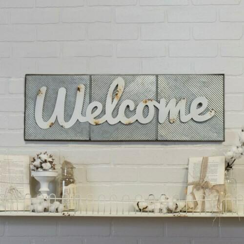 Welcome Wall Art