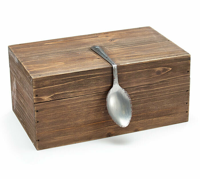 Wooden Spoon Box