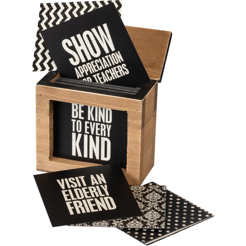 Words Of Wisdom Box