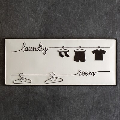 Clothes Laundry Room Sign