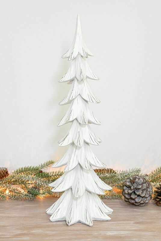 Lg Glitter White Pine