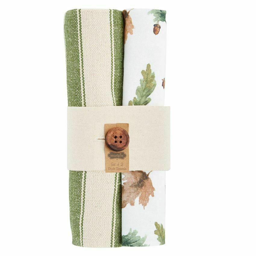 Leaves Dish Towel Set