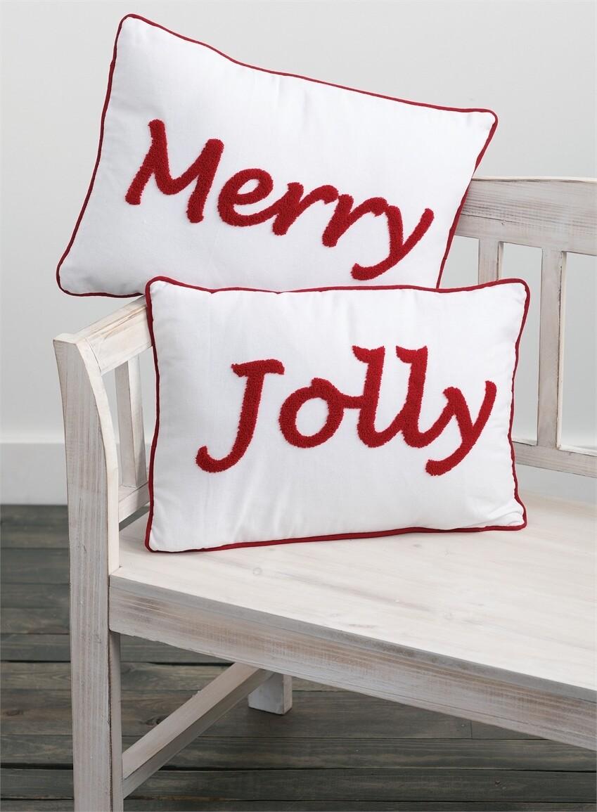 Merry/Jolly Pillow