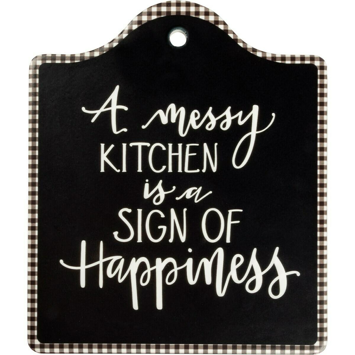 Messy Kitchen Sign