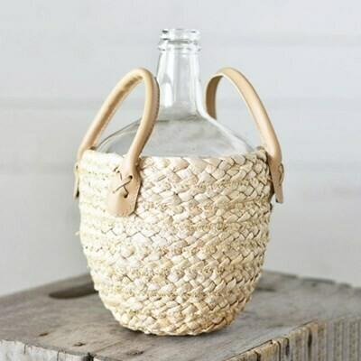 Natural Bagged Bottle Vase