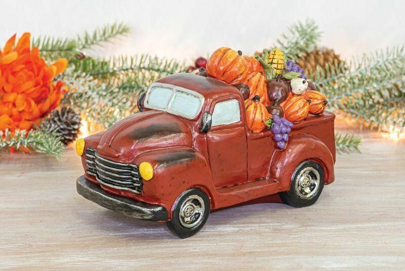 Red Harvest Truck