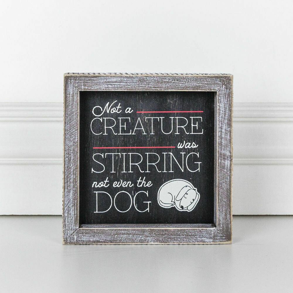 Stirring Dog Frame