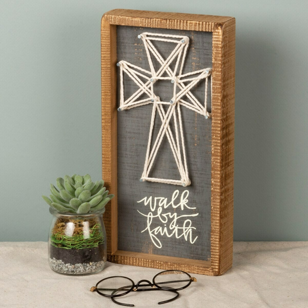 Walk by Faith String Art