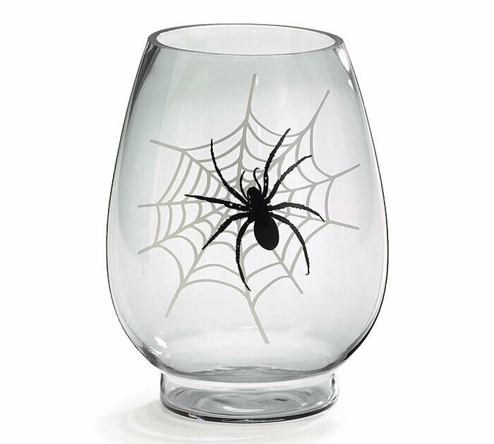 Spider Glass Vase