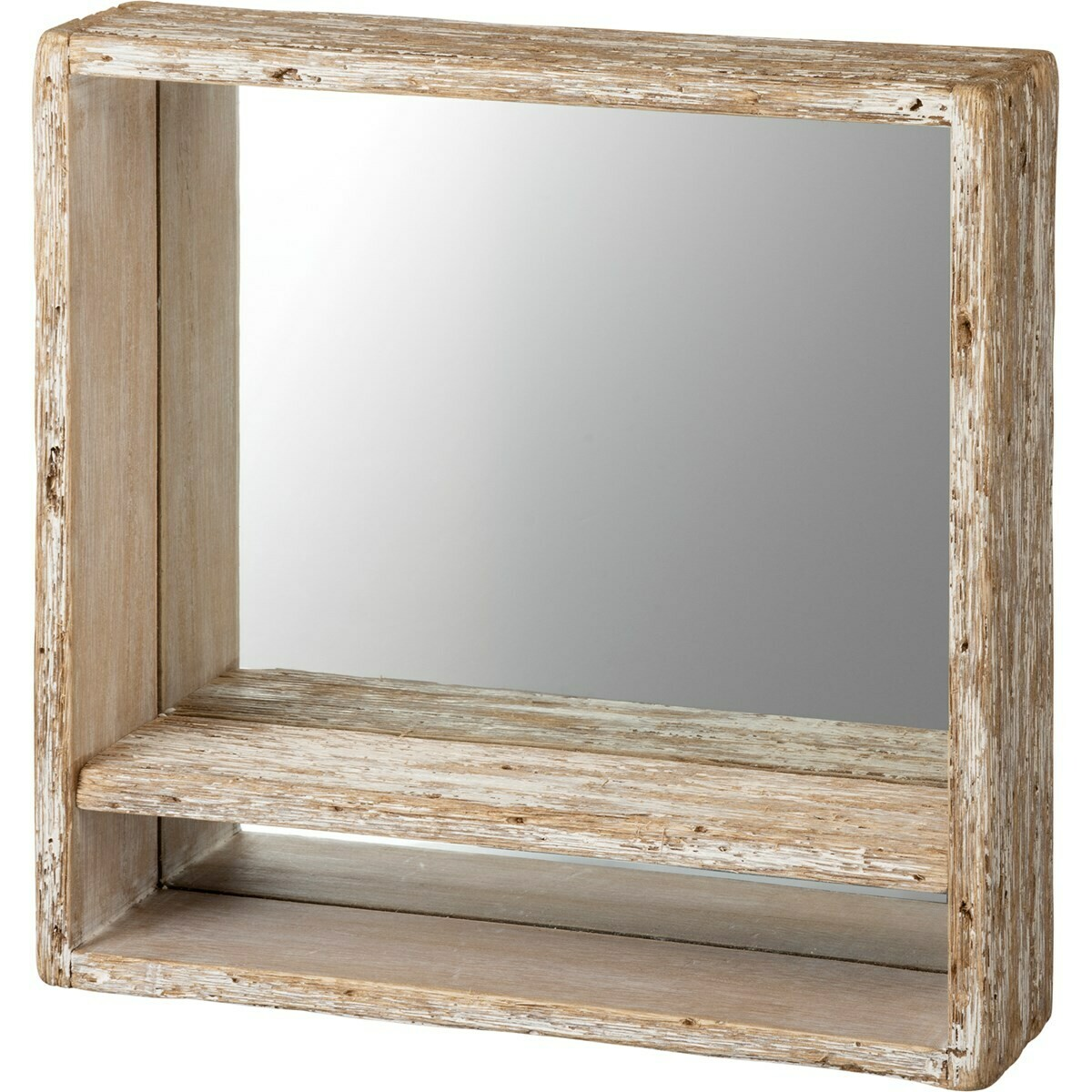 Rustic Mirror Shelf