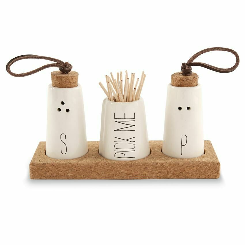 Salt & Pepper Toothpick Holder